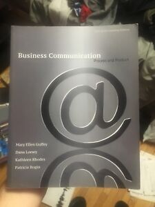 Business Communication 5th Edn