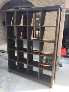IKEA solid pine shelving unit