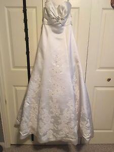 Wedding dress need gone