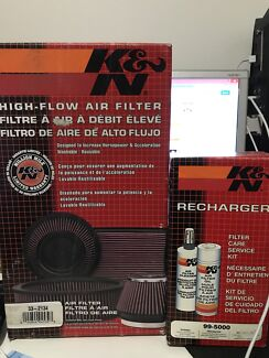 K&N Filter and Cleaning kit