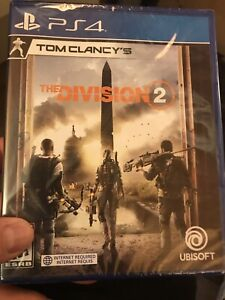 The Division 2 - PS4 - Neuf/New