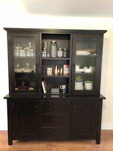Dining Room Storage Cabinet - Solid oak wood (delivery included)