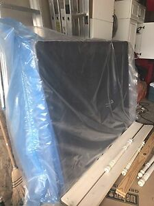 Double sized box spring