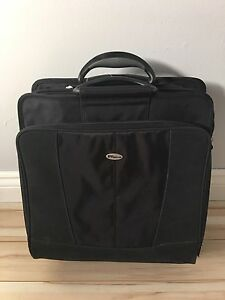 Travel laptop bag with wheels $30