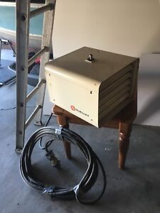 Electric heater for the shop!