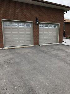 2 Garage Doors With Openers