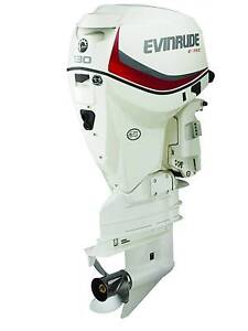 Evinrude Etec 130 hp long new FITTED! Finance available Wangara Wanneroo Area Preview