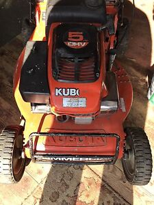 Kubota push mower