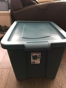 Storage and Moving Plastic Bins - 13 available