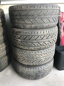"""20"""" tires and mags"""
