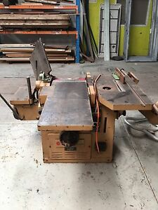 Planner / thicknesser / table saw SCM combo machine Wembley Cambridge Area Preview