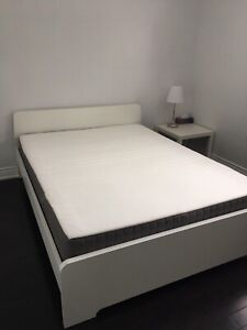 Moving sale queen size mattresses, bed frames and many more