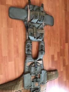 Padded airsoft/paintball vest