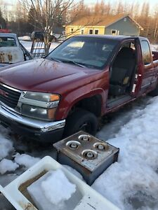 Parting out 2004 canyon 4x4