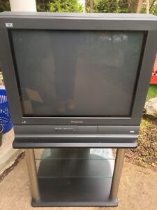 Panasonic Television and Stand