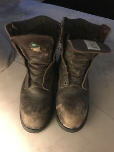 Red Wing Work Boots / Steel Toe Gore-Tex