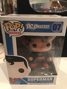 Brand New Dc Universe SUPERMAN POP Figure