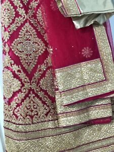 Brand new Indian Lengha! Indian clothing, magenta colour
