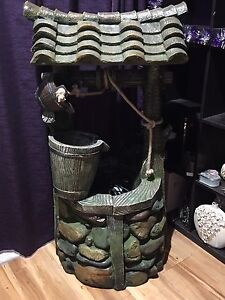 Wishing well water feature Brassall Ipswich City Preview