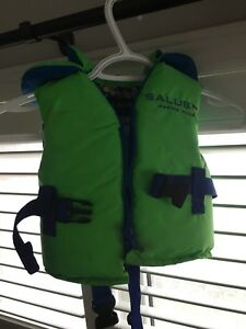 Infant and child life vests