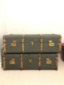 Vintage Suitcases (Train luggage) - MUST GO!