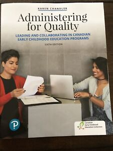Administering for Quality 6th Edition