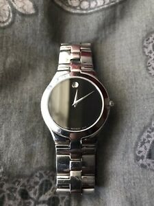 Movado Museum Juro Stainless Steel Men's Quartz Watch