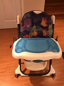 Toddler fisher price adjustable high chair barely used