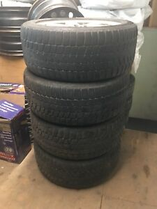 2006 -2008 Mercedes Benz ML winter tires