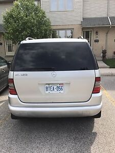 A very low mileage 2001 Mercedes Benz ML320