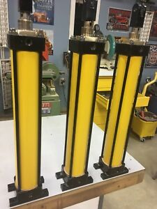 3 large air operated cyclinders