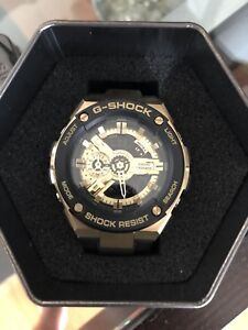 G-Shock Watch Black & Gold