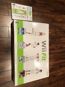 Nintendo Wii Fit (with box) & Wii Fit Plus game