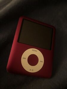 """Red product iPod nano 8gb """"battery doesn't hold charge"""""""