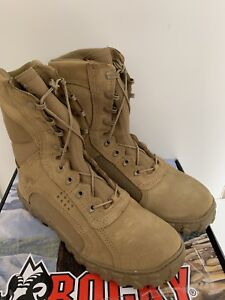 """Rocky S2V Coyote Combat Boots 9W """"NEW"""""""