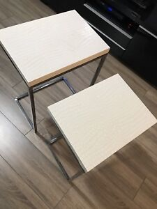 2 side tables. Selling together!