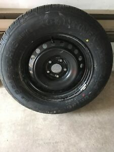 16-Inch Tire with Rim