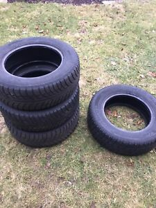 (Set of 4) 215/65R16 snow tires for sale!