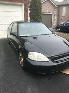 2000 Honda Civic Si coupe D16y8 Turbo