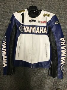 Yamaha Leather Jacket Size Small