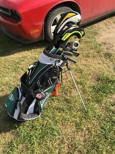 Cobra golf clubs with rider bag