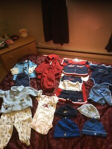 Boys clothes size 3-6 mths
