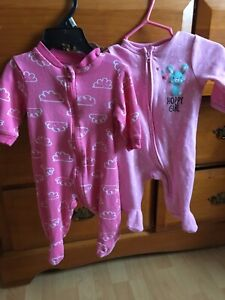 Baby girl 0-3 month onesies