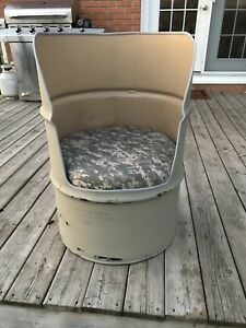 Oil Drum / Barrel Chair