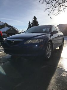 2004 mazda 6 Gs runs & drives perfect with 2 sets of tires