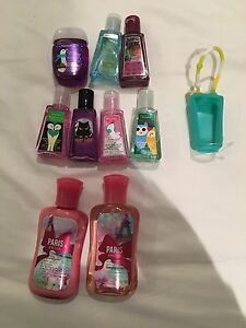 Bath and body works: body mist and creams