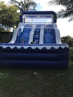 12m double water slide! Jumping castle hire