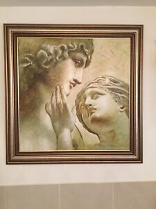 Bronze Roman Style Painting EXCELLENT CONDITION