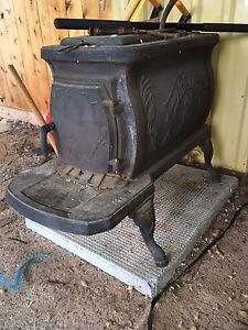 Antique Arctic wood stove