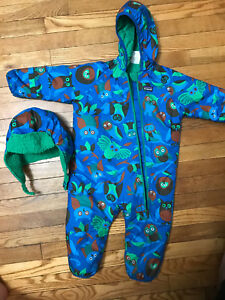 Boys snow suits in size 2!